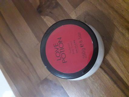 Love potion body cream