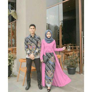 Couple batik