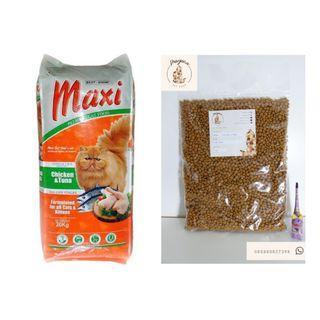 Maxi Makanan Kucing 1 kg Repack