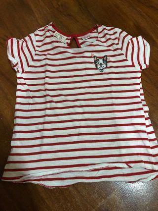 Zara shirt for toddler