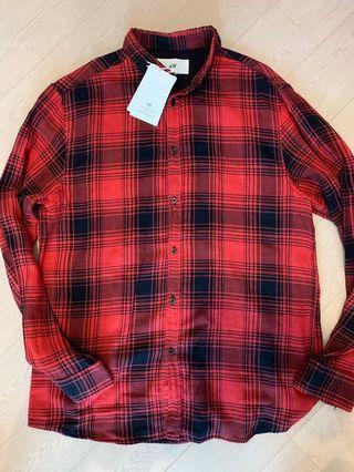 H&M x David Beckham shirt.  Size L