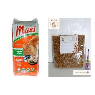 MAXI Makanan Kucing 500 Gram Repack