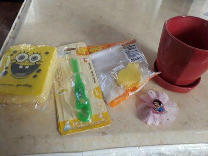 海綿寶寶菜瓜布 小獅王奶瓶刷