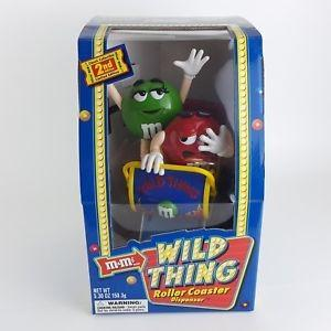 🚚 M&M's Wild Thing Roller Coaster Dispenser