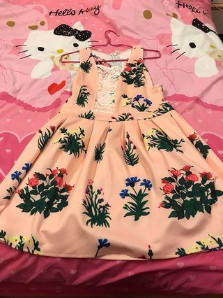 🚚 Floral Sleeveless Dress