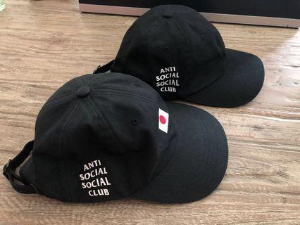 🚚 ASSC Weird Black Cap Japan