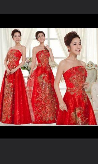 Sell Wedding Gown 4pcs Different style+FOC .Wedding Dress. Dinner Dress