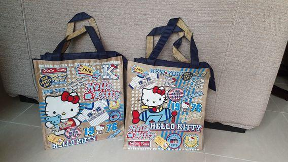 Hello Kitty Tote Bags (Waterproof Canvas)