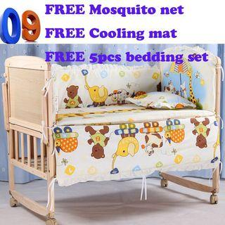 Brand-new wooden cot/crib/limited stock/sofa/Singapore