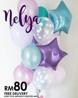 Balloon Surprise Delivery- Balloon Series- NELYA