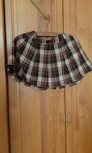 蘇格蘭格紋短裙