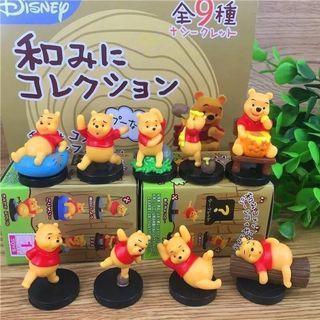 全新 小熊維尼 盒玩 公仔 全系列9種 一次收藏 Winnie the Pooh