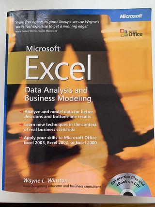 Microsoft Excel - Data Analysis & Business Modelling (with CD)