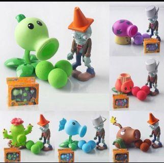 Instock! Brand New Plants Vs Zombies Toys