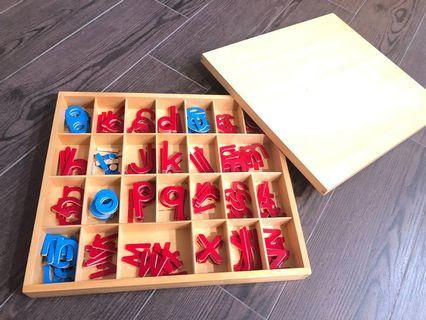 Montessori Moveable Alphabets