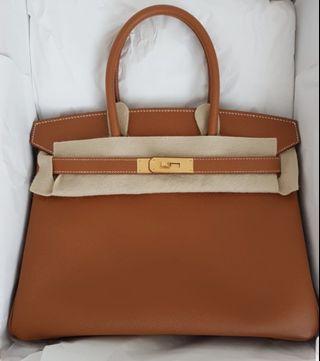 127fa3c1b41 Hermes Birkin 30 - Gold