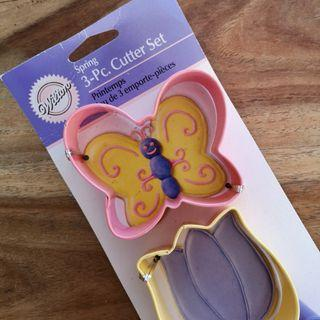 Wilton Spring 3 Piece Cutter Set