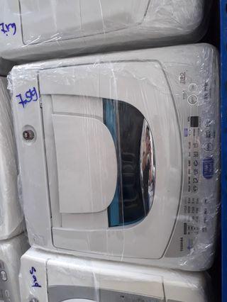 Toshiba 7.5kg Top load Washing Machine / washer  warranty 1 months