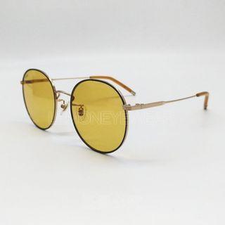 🌺 春夏新款 🌺 [檸檬眼鏡] LASH HOPE 2 GG16 太陽眼鏡 圓形鈦金屬鏡框 極輕舒適 配戴沒壓力