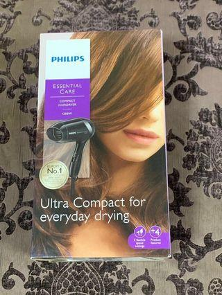 🆕Philips essential care compact hairdryer 1200W