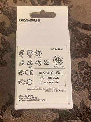 🆕Olympus Lithium ion battery pack BLS-50 (Sealed)