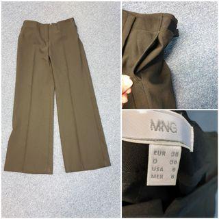 Mango wide leg straight cut pant . Used