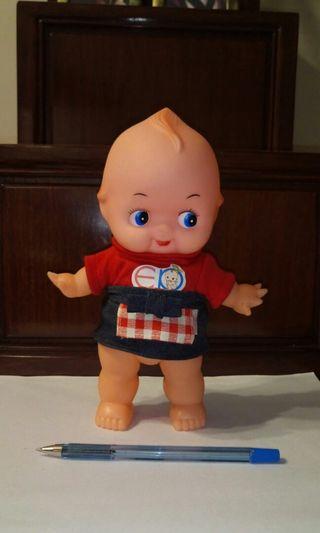 Baby doll toy + Kewpie outfit set BB 公仔連衣服