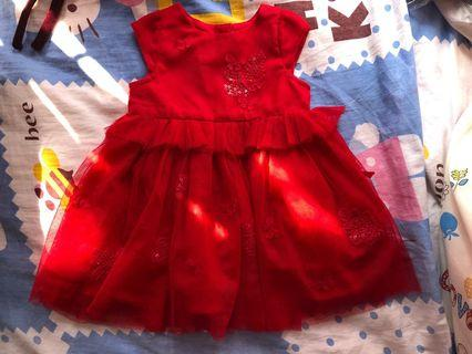 BB女紗裙,9-18months, $45, please pm