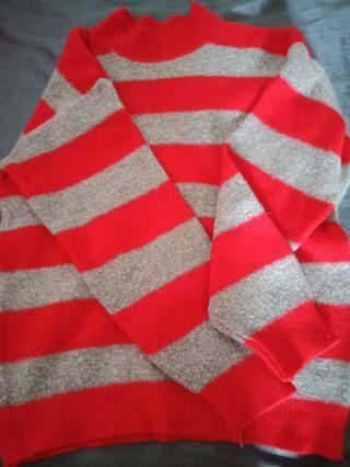 🚚 條紋毛衣