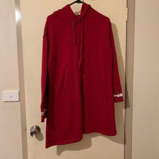 Red Hoodie Dress