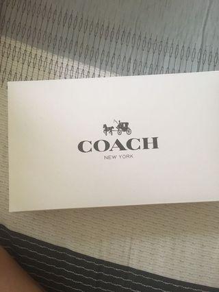 Coach長夾