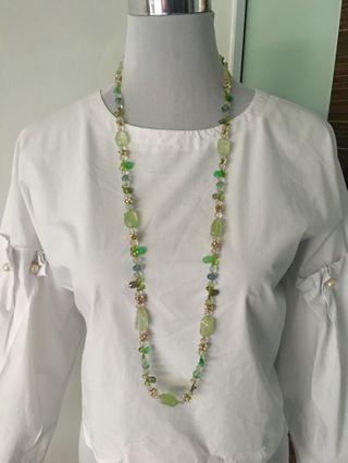 Semi precious stones Long necklace