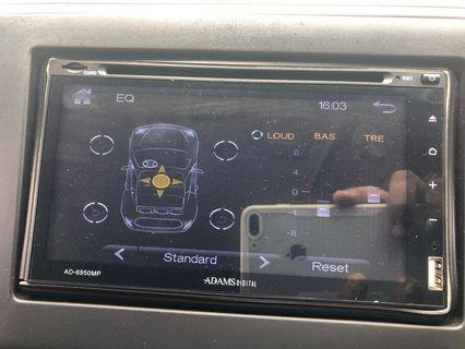 adam car lcd player