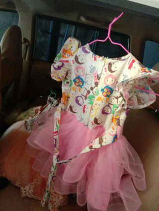 Dress lucu tsum tsum