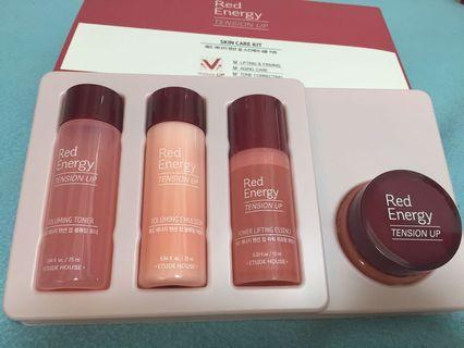 🚚 Etude House Red Energy Trial Kit 4items
