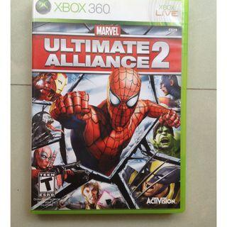 Marvel: Ultimate Alliance 2《超級英雄聯盟2 》xbox360 xbox 360 game