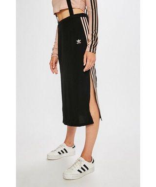🚚 Adidas midi skirt with suspenders