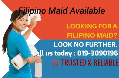 Maid Available for whole Malaysia