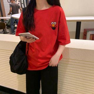 Elmo Korean Harajuku Tshirt