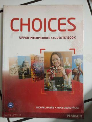 Choices Upper Intermediate Student's Book