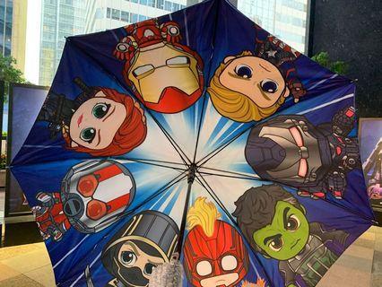 全新正版Marvel Cosbaby 2019遮 雨傘☂️