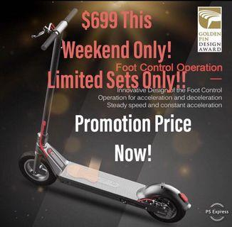 Superior Quality UL2272 Certified LTA Approved Electric Scooter
