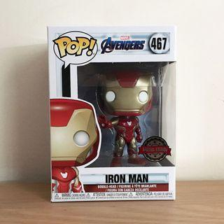 Funko Pop Ironman Special Edition (Avengers Endgame)