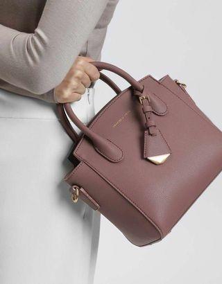 Charles & Keith classic handle bag