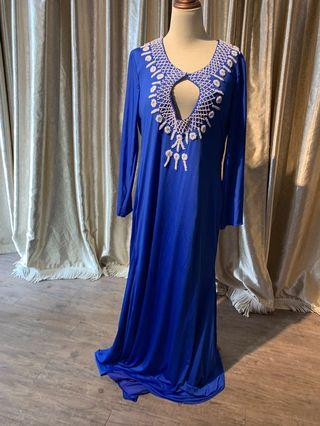 Blue Kaftan(3XL-4XL)