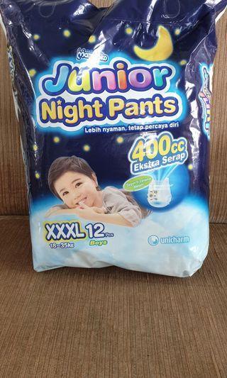 Diapers - Mamypoko Junior Night Pants XXXL 12