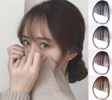 See-Through Bangs Fringe Hair Wig