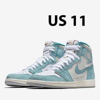 best service ae578 95a3b Nike Air Jordan 1 Retro High OG Turbo Green - US 11  EndgameYourExcess