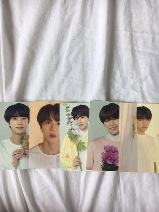 BTS love yourself mini photocard