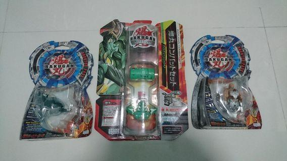 🚚 Bakugan toys robots monsters figures transformers
